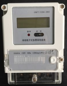Single Phase Remote Energy Meter Ht-301 pictures & photos