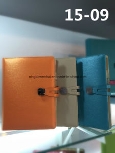 Custom Hot Selling Chinese Hardcover PU Leather Notebook pictures & photos