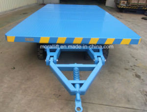 Heavy loading capacity workshop transport cart pictures & photos