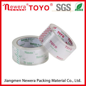 Enviorment Protect Super Crystal Clear BOPP Acrylic Adhesive Packing Tape pictures & photos