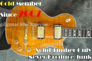 Sbg-L Supreme Mahogany Ebony Fretsboard Guitar Electric Guitar OEM in Many Colors