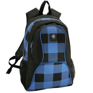 Leisure Grid Bag School Laptop Student Backpack pictures & photos