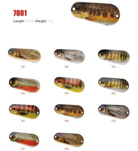 New Design 60mm 15g Fishing Spoon Lures pictures & photos