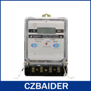 Single Phase Static Energy Meter (Electric Meter, Prepaid Meter) (DDS2111)