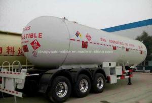ASME 45-50 Cbm M3 LPG Tank Trailer 25t Tons LPG Tanker Price pictures & photos