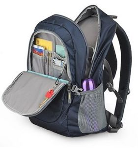 Modern and Leisure Nylon School Laptop Backpack Bag pictures & photos