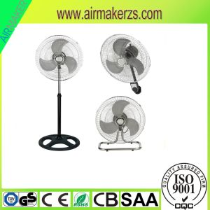 "18"" 3 in 1 Electric Stand Industrial Fan with Ce/Rohs pictures & photos"