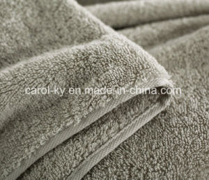 Cotton Luxury Long Pile Dobby Border Bath Towel pictures & photos