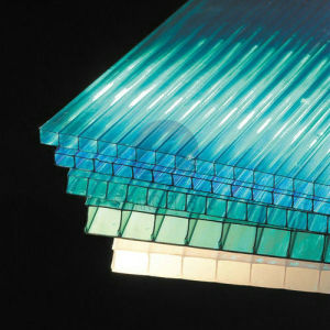Lexan Polycarbonate PC Hollow Board for Roofing (SH-H043) pictures & photos