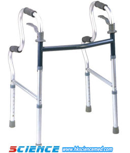 Aluminum Foldable Moveable Walker Without Wheel (SC-WK07(A)) pictures & photos