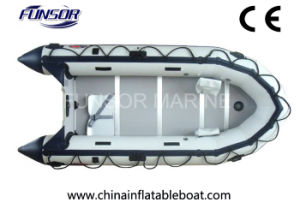 PVC Boat Hypalon Boat with Plywood Floor (FWS-A320) pictures & photos