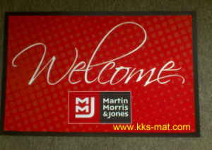 Knitted Polyester Fabric Floor Mats pictures & photos