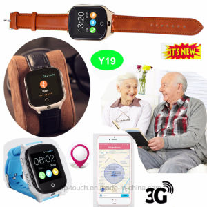 3G Adults GPS Tracker Watch with GPS+Lbs+WiFi Y19 pictures & photos
