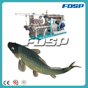 Long Work Life Twin Screw Extruder Fish Feed Mill Plant pictures & photos