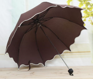 Manual Open Edged Fold Umbrella (JYFU-02) pictures & photos