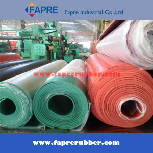 Industrial Nr (Natural) +SBR+Cr (Neoprene) +NBR (Nitrile) +EPDM+Silicone+Viton+Br+Butyl+Iir Rubber Sheet/Roll/Mat/Pad pictures & photos
