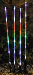 Set of 4 Solar Xmas Stem Light pictures & photos