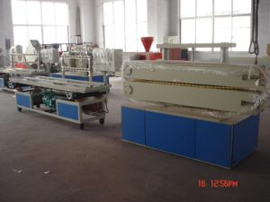 Plastic Profile Production Line (Profile Width from 180mm-300mm) pictures & photos
