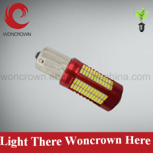 Trade Assurance LED Auto Brake Light 1157 3014 106 SMD Dual Color Switchback LED Turn pictures & photos