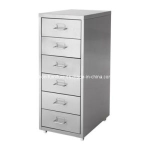 Steel Furniture /Metal Storage Cabinet/6 Drawer Filing Cabinets pictures & photos