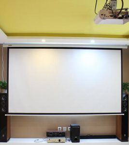 300 Inch 4: 3 16: 9 Electric Projector Screen Large Motorized Projection Screen pictures & photos