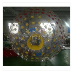 Crazy Sport Game Custom Made Color Dots Inflatable Zorb pictures & photos