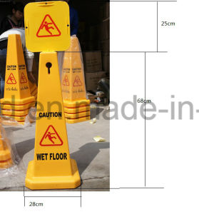 Safety Warning Caution Billboard Traffic Sign Plastic Billboard pictures & photos