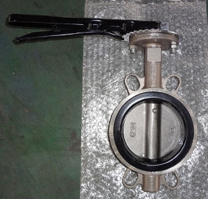 Ss316 Wafer Butterfly Valve with EPDM Seat pictures & photos