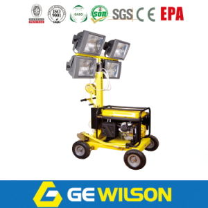 4*1000W Light Tower with Generator and Wheels pictures & photos
