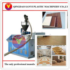 Multifunctional PVC Foam Board Machine for Composite Lamination Floor Panel pictures & photos