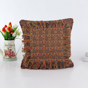 Decorative Hand-Sewing Tape Pillow (LPL-196) pictures & photos