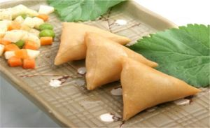 Triangle Frozen Vegetable 12.5g/Piece X 96pieces Samosas with HACCP Certification pictures & photos