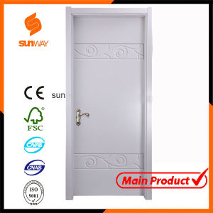 Wood Solid Wooden Door Fancy Door with Certificate pictures & photos