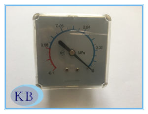 Medical Pressure Gauge 60*60mm -0.1+0 MPa pictures & photos