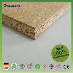 High Moisture Resistance Plain Particle Board E0 Grade MDF Board pictures & photos