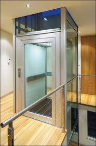Stainless Steel Mirror Etching Home Lift/Elevator pictures & photos