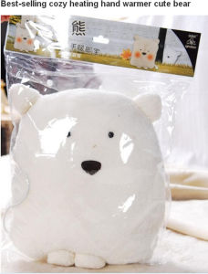 Best-Selling Cute Bear Shape Heating Hand Warmer pictures & photos