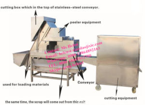 Factory Supply Stainless Steel Onion Peeling Machine/008615621096735 pictures & photos
