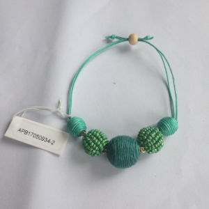 Cotton Green Ball Bracelet Fashion Jewelry New Style pictures & photos