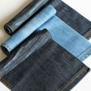 Textile Fabric Cotton Yarn Dyed Indigo Denim Fabric for Dress and Shirt pictures & photos