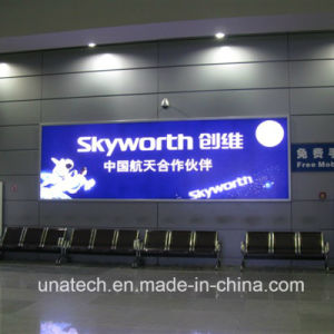 Ads Media Outdoor/Indoor LED Banner Flex Mesh Fabric Billboard Light Box pictures & photos