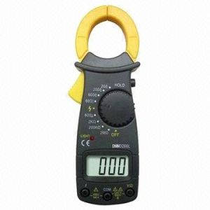 Digital Clamp Multimeter with LCD Display pictures & photos