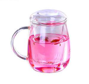Beautiful Design Glass Mushroom Cup Tea Cup pictures & photos