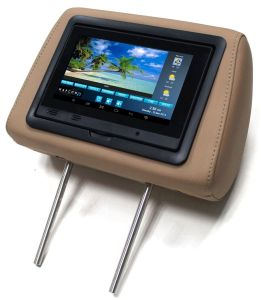 3G Taxi Headrest Advertising Tablet PC with Cloud Server pictures & photos