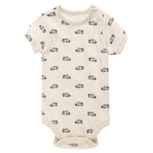 Boys Short Sleeve Keep Warm Comfortable Baby Romper pictures & photos