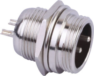 Circular Cable Power Waterproof Connector (M12-2b)