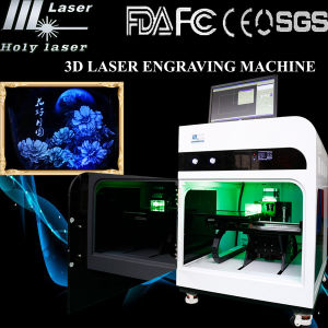 3D Crytsal Laser Engraving Etching Machine (HSGP-4KB) pictures & photos