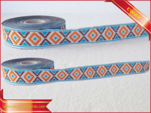 Clothing Underwear Elastic Tape jacquard Woven Cotton Tape pictures & photos