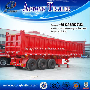 3axle Sand Stone Carrying Tipper Truck Trailer with Low Price pictures & photos