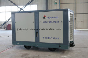 Mobile Flexible Mine Air Screw Compressor pictures & photos